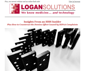 Logan Solutions newsletter