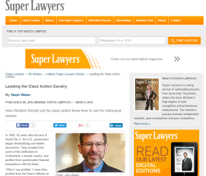 Shevitz - Super Lawyers